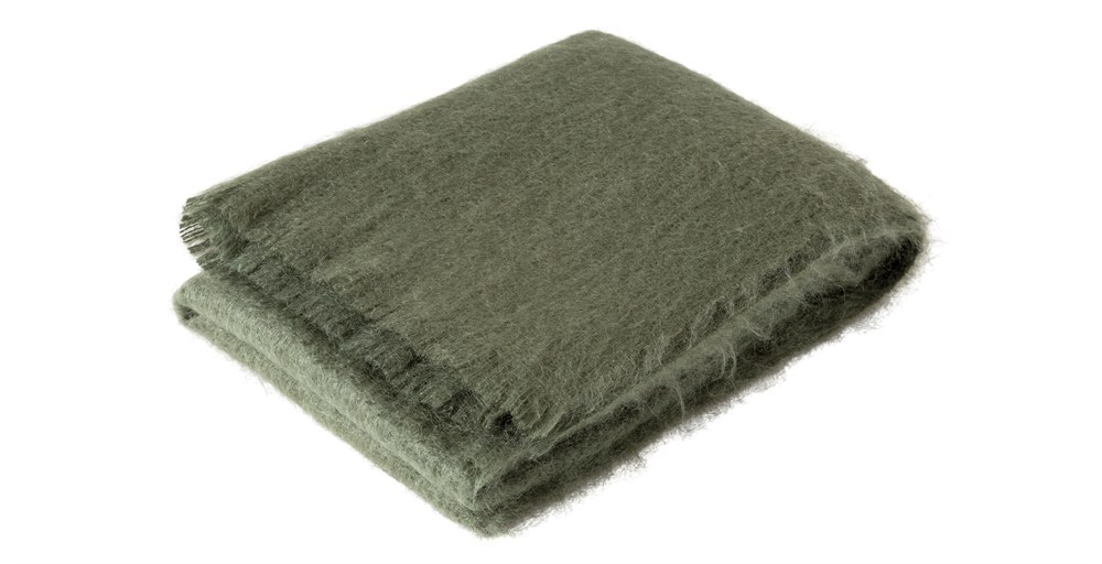 Luxury Mohair Throw Clearance